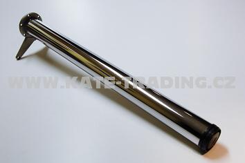 Noha stolová CHROM 710mm průměr 60mm