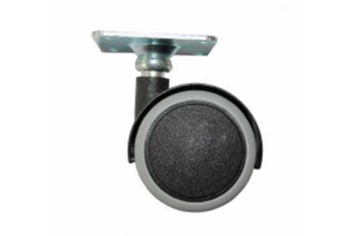 Kolečko 50mm s gumou na plovoucí podlahy Ital + plotna