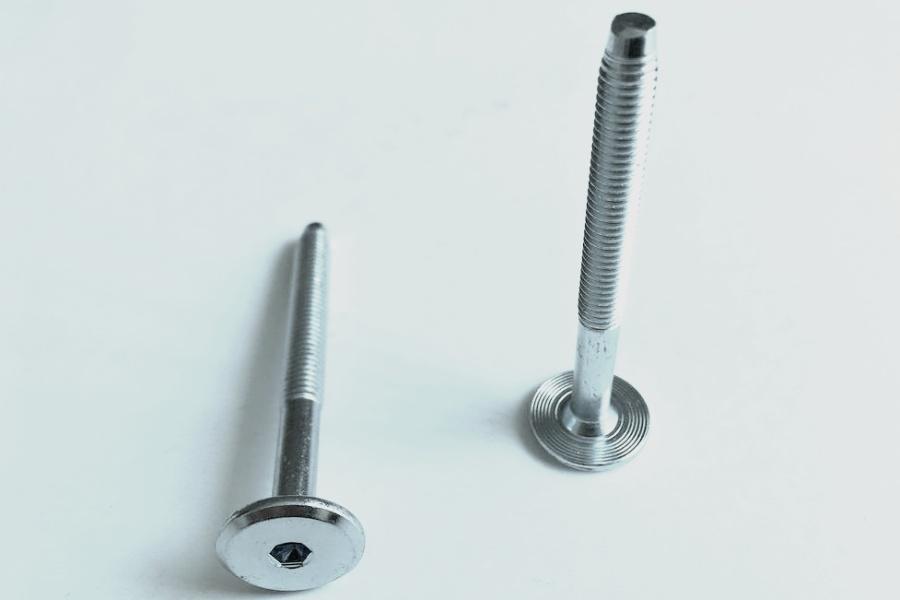 Nábytkový šroub M6x80 galvanický zinek