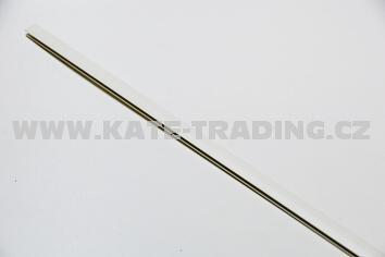 Lišta na sololit spojující záda 2m/ tl.drážky 4mm /