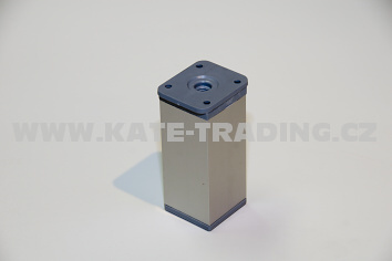 Nábytková nožka hranatá NK2 v- 100 /40x40mm /10E1NK2C10/
