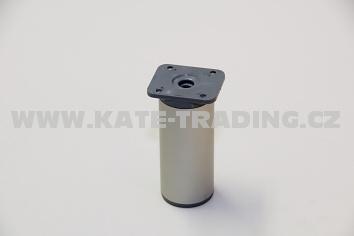 Nábytková nožka kruhová NK2/ v-100mm/10E1NK2K10/