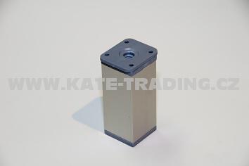 Nábytková nožka hranatá NK2 v-150 /40x40 mm/10E1NK2C15/
