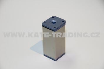 Nábytková nožka hranatá NK2 v- 60 / 40x40 mm/10E1NK2C60/