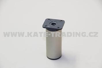 Nábytková nožka kruhová NK2 / v-60 mm /10E1NK2K60/