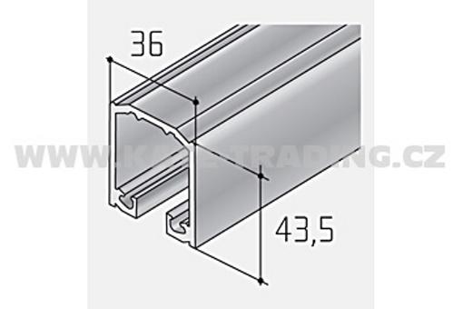 Profil pro kování S 100 ELOX /18D1S100/ 1bm