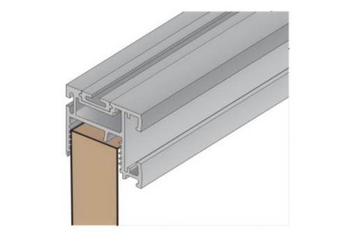 Profil Salu 10N 2,7 m stříbrný elox /17D1S10N27/Bez krycího pro