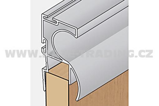 Profil boční S12 2.70m stříbrný elox /17D3MS1227/