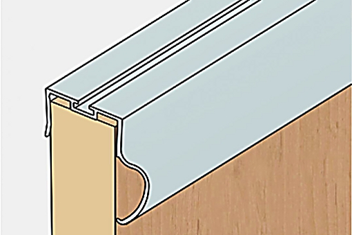 Profil boční S13B 2.70m stříbrný elox/17D1S13B27/