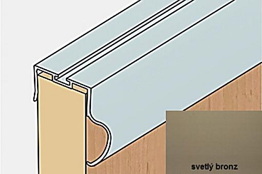 Profil boční S13B 2.70m světlý bronz /17D3S13B27/