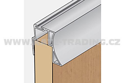 Profil boční S14 2.70m stříbrný elox/17D1MS1427/