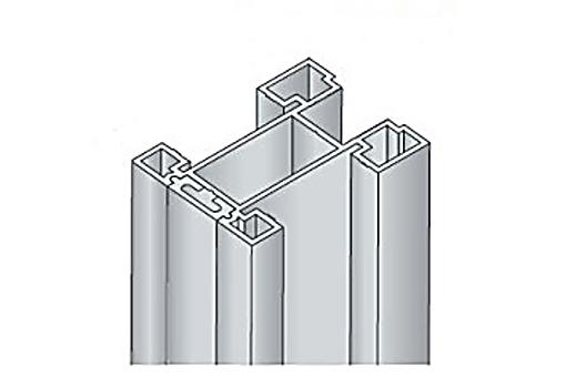 Profil boční S15 2.70m stříbrný elox-bez krycí profil/17D1MS1