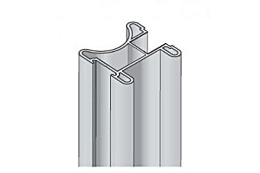 Profil Salu S22 2,7m stříbrný elox /17D1MS2227/