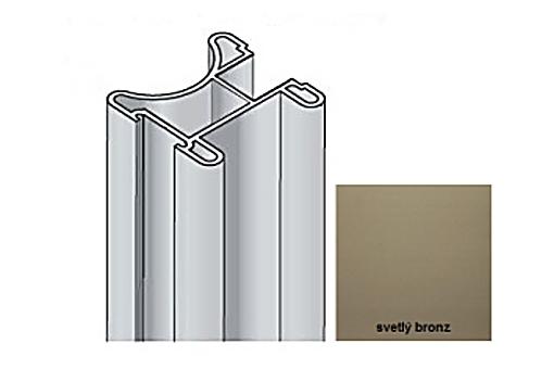 Profil Salu S22 2,7m světlý bronz /17D3MS2227/