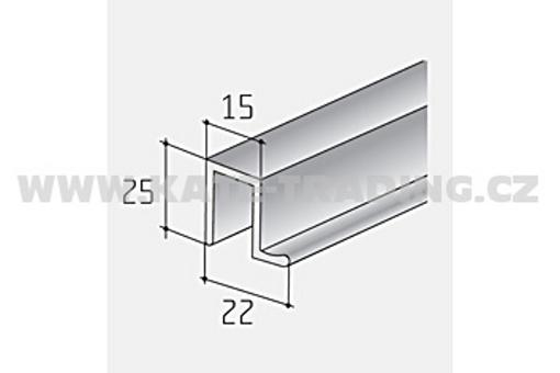 S25 horní profil 1bm (1) /11D1HORN/