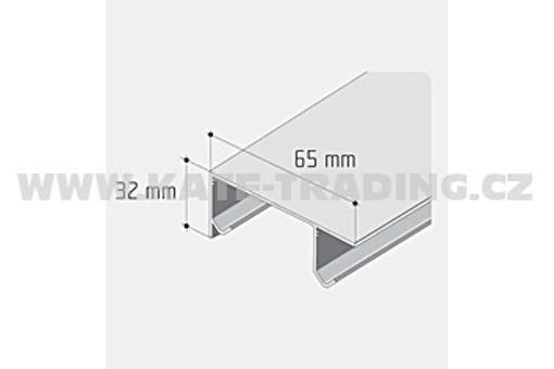 Profil S 30 dvojtý /12D2DVOJ/ délka 1bm