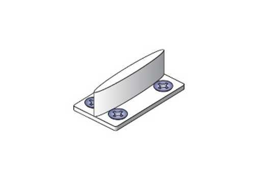 Spodní vodítko ke kování S 30/20 /14C0S30V/