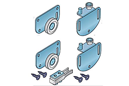 Sada kování S36 pro posuvné skříňové dveře /13C0S36/