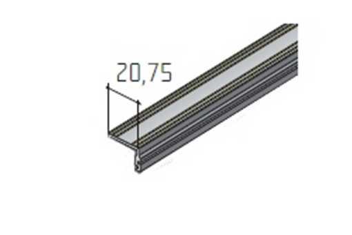 S40SD – dolní profil /15A0FPKL/ délka 2m