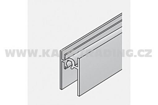 Dolní profil S 65 - 4/18 mm elox /17D1DP65/ 1bm