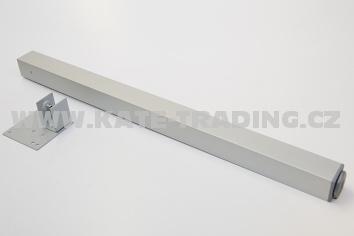 Stolová noha S45/45/710 mm stříbrný elox