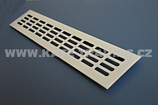 Mřížka kovová 500 x 80 mm bílá barva