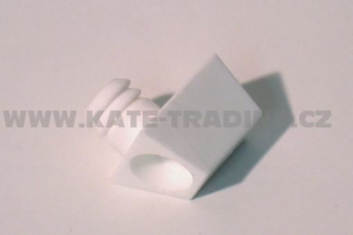 Spojovací element plast černý,bílý,tm.hnědý, sv.hnědý