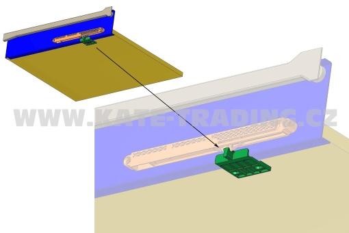 AktivátorSMZ pro Metal box system creme RAL 9001, PU: 100 pcs. S