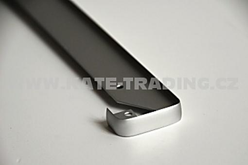 Lišta linearní /do roviny / na prac.desku AL 38 mm