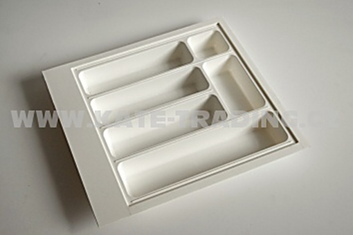 Příborník plast.44x49cm bílý (1)