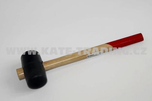 Palička gumová 55mm černá 2610
