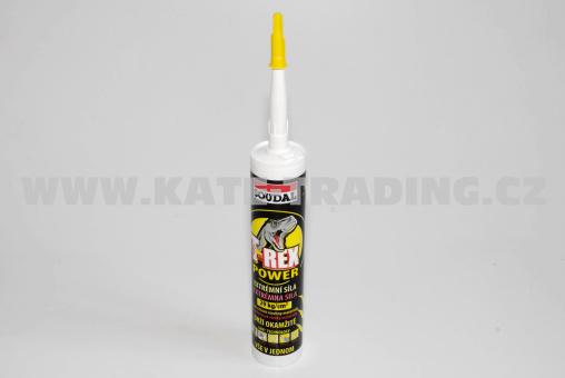 T-REX Power Soudal bílý tmel+lepidlo 290 ml