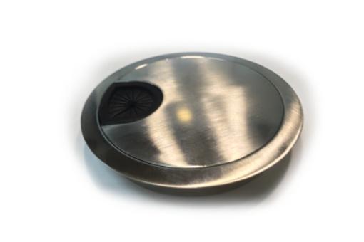 Průchodka GP 60 povrch NEREZ brus kov výška 15mm