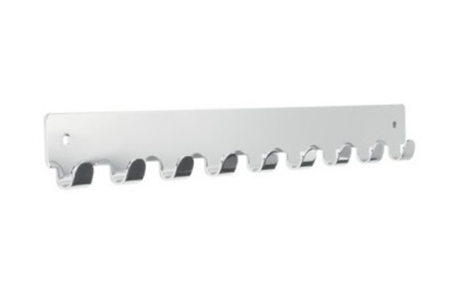 Věšáková lišta SIRO Délka: 366 mm, Šířka: 41 mm, Povrch: chrom l