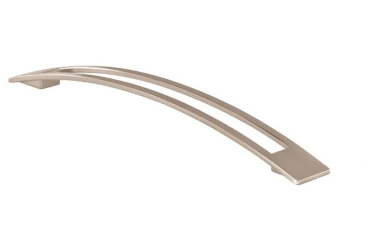 Úchytka 14141 rozteč 224mm,nikl jemně broušený (A12)