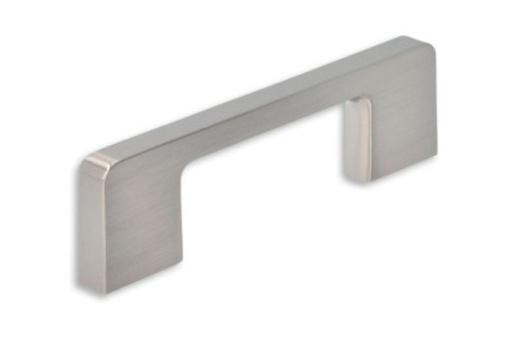 Kovová úchytka SIRO Délka: 108 mm, Rozteč: 96 mm, Povrch: nikl j