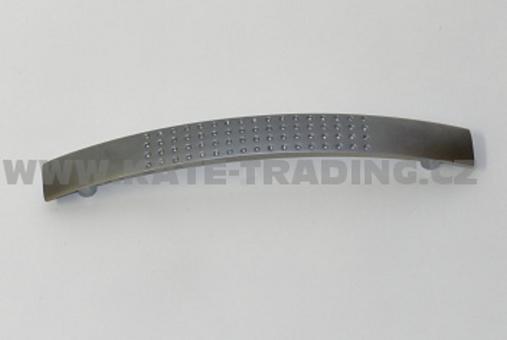 Úchytka 35152 satin chrom rozteč 128 mm