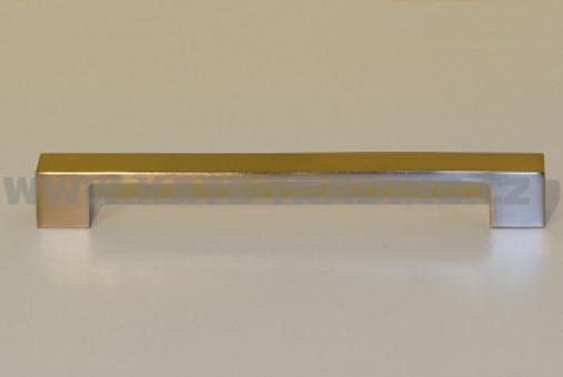 Úchytka 37032 rozteč 160 mm broušený nikl