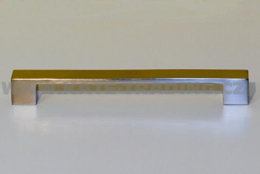 hrazda 37034 rozteč 192mm,broušený nikl