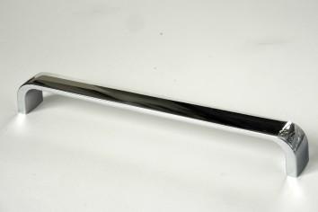 Úchytky a madla, rozteč 192 mm matný chrom (1)