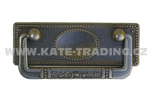 Rustikální úchytka rozteč 64 mm (R84)