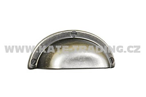 Rustikální úchytka R51 75x35 mm rozteč 32 mm