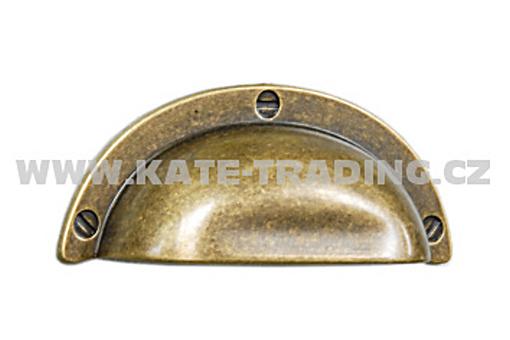 Rustikální úchytka (R50) 95x40 mm rozteč 64 mm