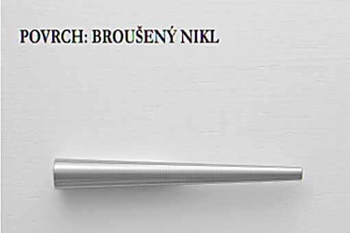 Úchytka LIBRA NI Brus,rozteč 32-64 mm (R101)