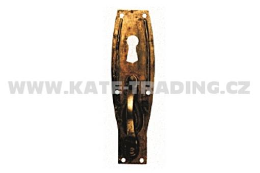 Rustikální úchytka s otvorem klíče