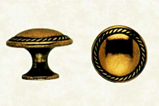 Rustikální knopka průměr 30mm (R46)