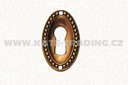 Rustikální štítek ke klíči