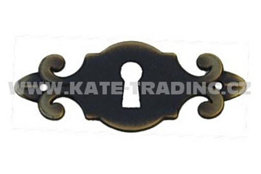 C2014 Rustikální štítek ke klíči