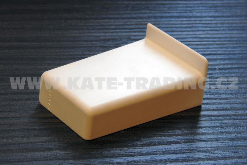 krytka retifikačního kování plast bílá levá CAMAR 806
