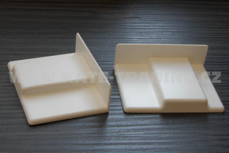 krytka retifikačního kování 807 plast bílá levá CAMAR